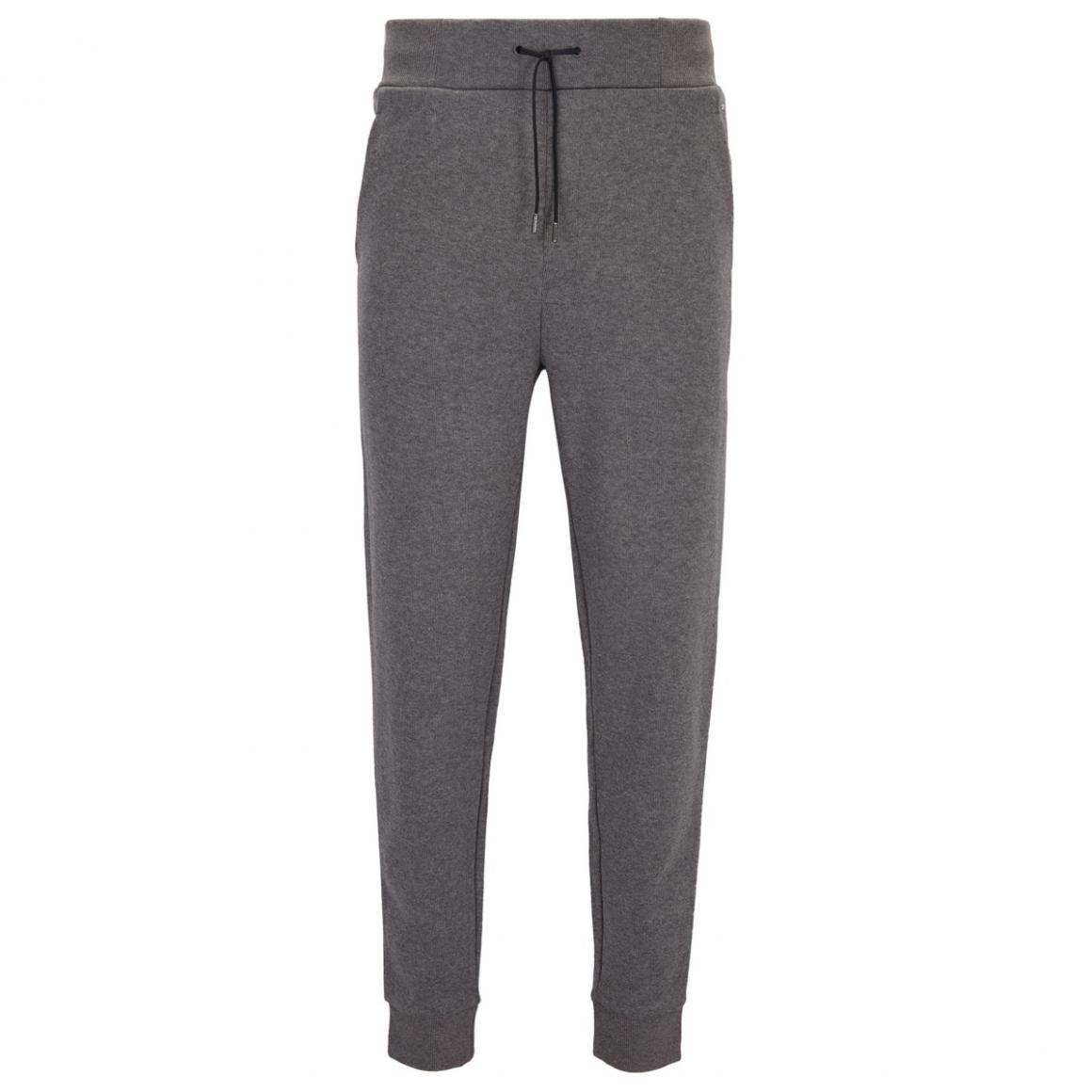 Vetements Hugo Homme Pantalon Relaxed Fit En Jersey De Coton Cotele Gris Chine Nevisol